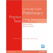 PET Practice Tests Plus 2 Students Book with Key and Access Code - Barbara Thomas