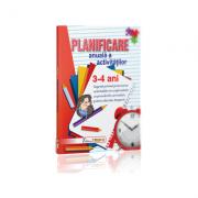 Planificare anuala a activitatilor 3-4 ani - Gogoncea Cristina