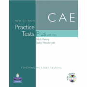Practice Tests Plus CAE New Edition Students Book with Key/CD Rom Pack - Nick Kenny