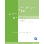 Practice Tests Plus FCE New Edition Students Book with Key/CD Rom Pack - Nick Kenny