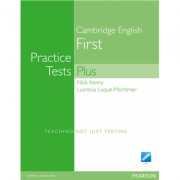 Practice Tests Plus FCE New Edition Students Book without Key/CD-Rom Pack - Nick Kenny