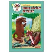 Ursul pacalit de vulpe - carte de colorat - Ion Creanga