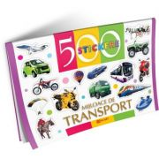 Mijloace de transport. 500 stickere