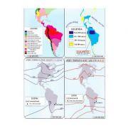 America - Harta Fizica si Harta Politica 1-46. 000. 000 (pliata)