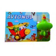 Avionul - Carte cu jucarie