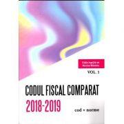 Codul Fiscal Comparat 2018-2019 (cod+norme) 3 Volume ( Editie ingrijita de Nicole Mandoiu )