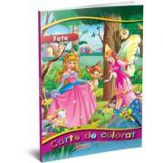 Carte De Colorat A4. Fete