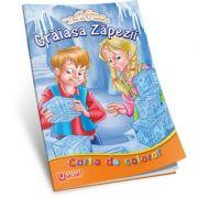 Craiasa Zapezii. Carte de colorat