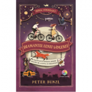 Diamantul lunii sangerii. Seria Cogheart, volumul 2 - Peter Bunzl