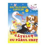 Din folclorul copiilor: Catelus cu parul cret