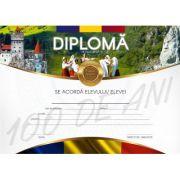 Diploma Centenar de excelenta pentru invatamantul gimnazial