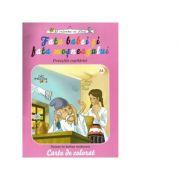 Fata babei si fata mosneagului. Povestile copilariei (carte de colorat)