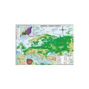 Harta Europa Politica si Fizica (pliata)