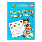 Invatam despre forme si culori 3-5 ani