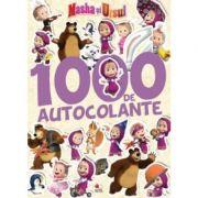 Masha si Ursul. 1000 de autocolante