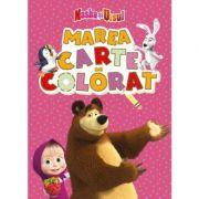 Masha si Ursul - Marea carte de colorat