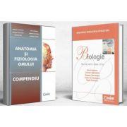 Pachet, Admitere la Facultatea de Medicina - Compendiu Anatomia si Fiziologia Omului si Manual de biologie pentru clasa a XI-a, Dan Cristescu