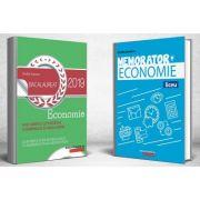 Pachet Bacalaureat Economie 2019 - Ghid de pregatire si Memorator de economie pentru liceu