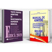 Pachet pentru admitere in invatamantul superior medical Fizica si Biologie - Teste