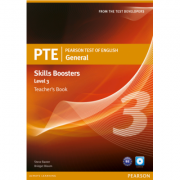 Pearson Test of English General Skills Booster 3 Teachers Book and CD Pack - Steve Baxter