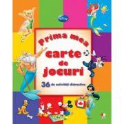 Prima mea carte de jocuri - Disney