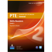 PTE General Skills Booster Level 2 Teachers Book (with Audio CD) - Terry Cook