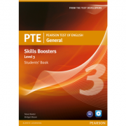 PTE General Skills Booster Level 3 Student Book (with Audio CD) - Steve Baxter