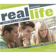 Real Life Global Elementary Class CD 1-4 - Martyn Hobbs