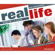Real Life Global Pre-Intermediate Class CD 1-4 - Sarah Cunningham