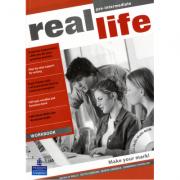Real Life Global Pre-Intermediate Workbook & Multi-ROM Pack - Patricia Reilly