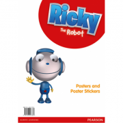 Ricky The Robot Poster and Sticker Pack - Naomi Simmons