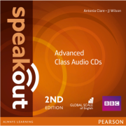 Speakout 2nd Edition Advanced Class Audio CDs - Antonia Clare