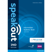Speakout 2nd Edition Intermediate Coursebook with DVD Rom and MyEnglishLab - Antonia Clare