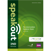 Speakout 2nd Edition Pre-intermediate Coursebook with DVD Rom & MyEnglishLab - Antonia Clare