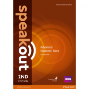 Speakout Advanced 2nd Edition Students Book and DVD-ROM Pack - Antonia Clare