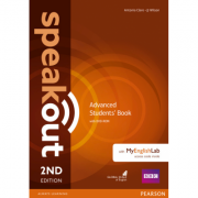 Speakout Advanced 2nd Edition Students Book with DVD-ROM and MyEnglishLab - Antonia Clare