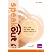 Speakout Advanced 2nd Edition Teachers Guide with Resource & Assessment Disc Pack - Damian Williams
