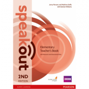 Speakout Elementary 2nd Edition Teachers Guide with Resource & Assessment Disc Pack - Jenny Parsons