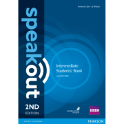 Speakout Intermediate 2nd Edition Students Book and DVD-ROM Pack - Antonia Clare