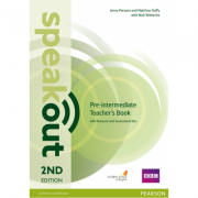 Speakout Pre-Intermediate 2nd Edition Teachers Guide with Resource & Assessment Disc Pack - Jenny Parsons
