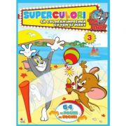 Tom & Jerry. Superculori. Sa coloram impreuna cu Tom si Jerry (vol. 3)