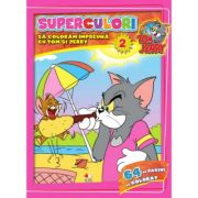 Tom & Jerry. Superculori. Sa coloram impreuna cu Tom si Jerry (vol. 2)