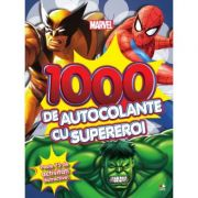 1000 de autocolante cu supereroi. Peste 75 de activitati distractive - Marvel