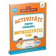 Activitati pentru exersarea motricitatii fine. 3-4 ani