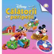 Calatorii cu peripetii (Carte + CD audio) - Disney