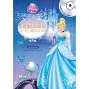 Cenusareasa si prietenii ei (Carte + CD audio) - Disney