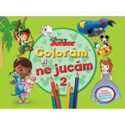 Coloram si ne jucam (vol. 2). Planse de colorat cu activitati distractive - Disney
