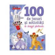 Disney Junior. 100 de jocuri si activitati de alungat plictiseala - Disney