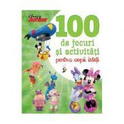 Disney Junior. 100 de jocuri si activitati pentru copii isteti - Disney