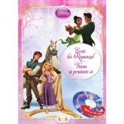 Eroii lui Rapunzel. Tiana si prietenii ei (Carte + CD audio) - Disney